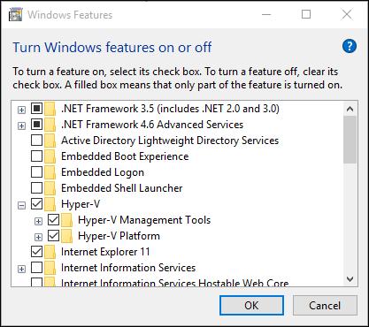 MS Hyper-V Install Image