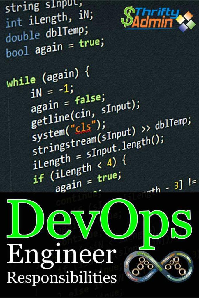 DevOps Engineer REsponsibilities
