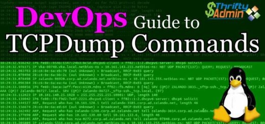 TCPDump Commands