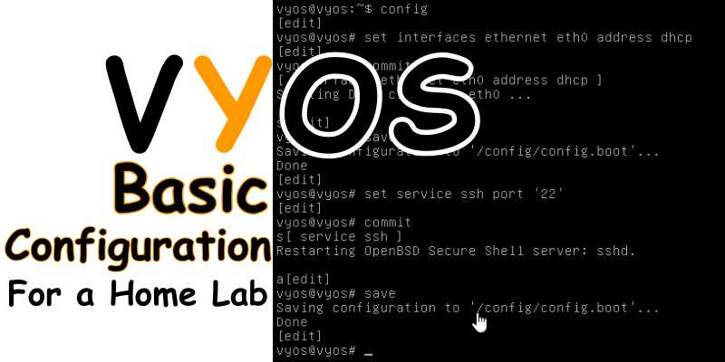 VyOS Configuration and Installation